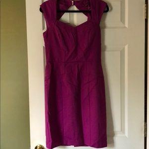 WHBM plum dress